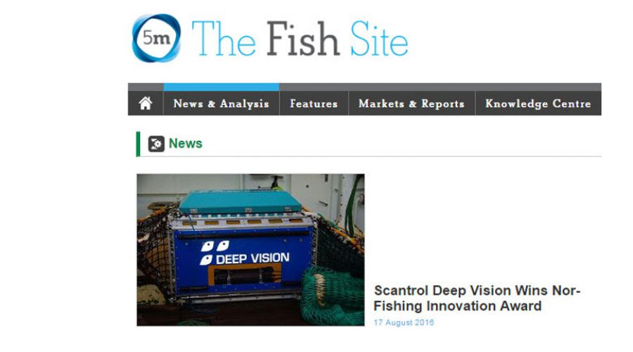 Scantrol Deep Vision Wins Nor-Fishing Innovation Award